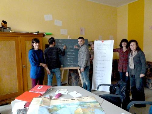 Deutschkurs für unsere Flüchtlinge