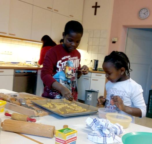 Die Weihnachtsbäckerei